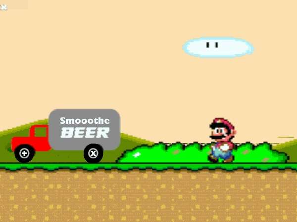 Mario Beer Animation