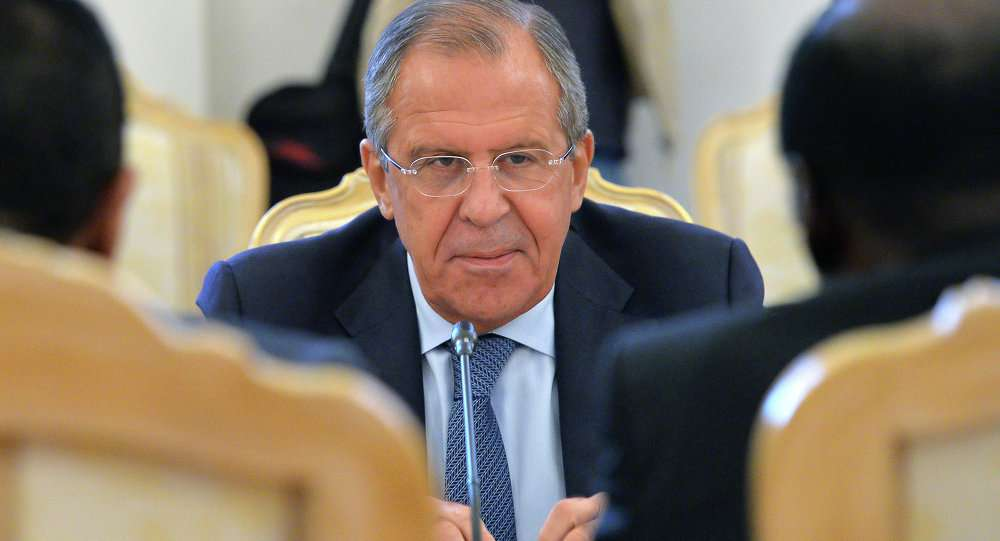 Russian Foreign Minister Sergei Lavrov Said That the United States Will Not Leave Syria