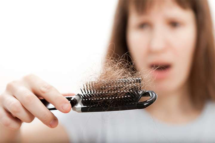 Causes for hair fall in women