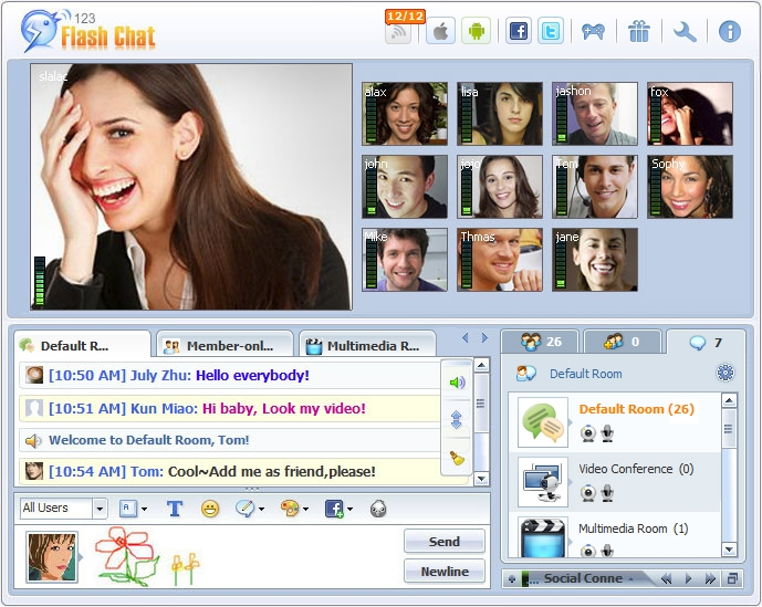 windows donamix chat app